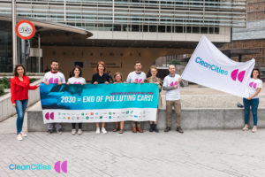 Presentation of the Clean Cities Campaign, European Commission. July 2021.