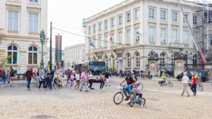 Brussels car-free day